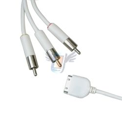AV kabel pro iPhone 3G, černý